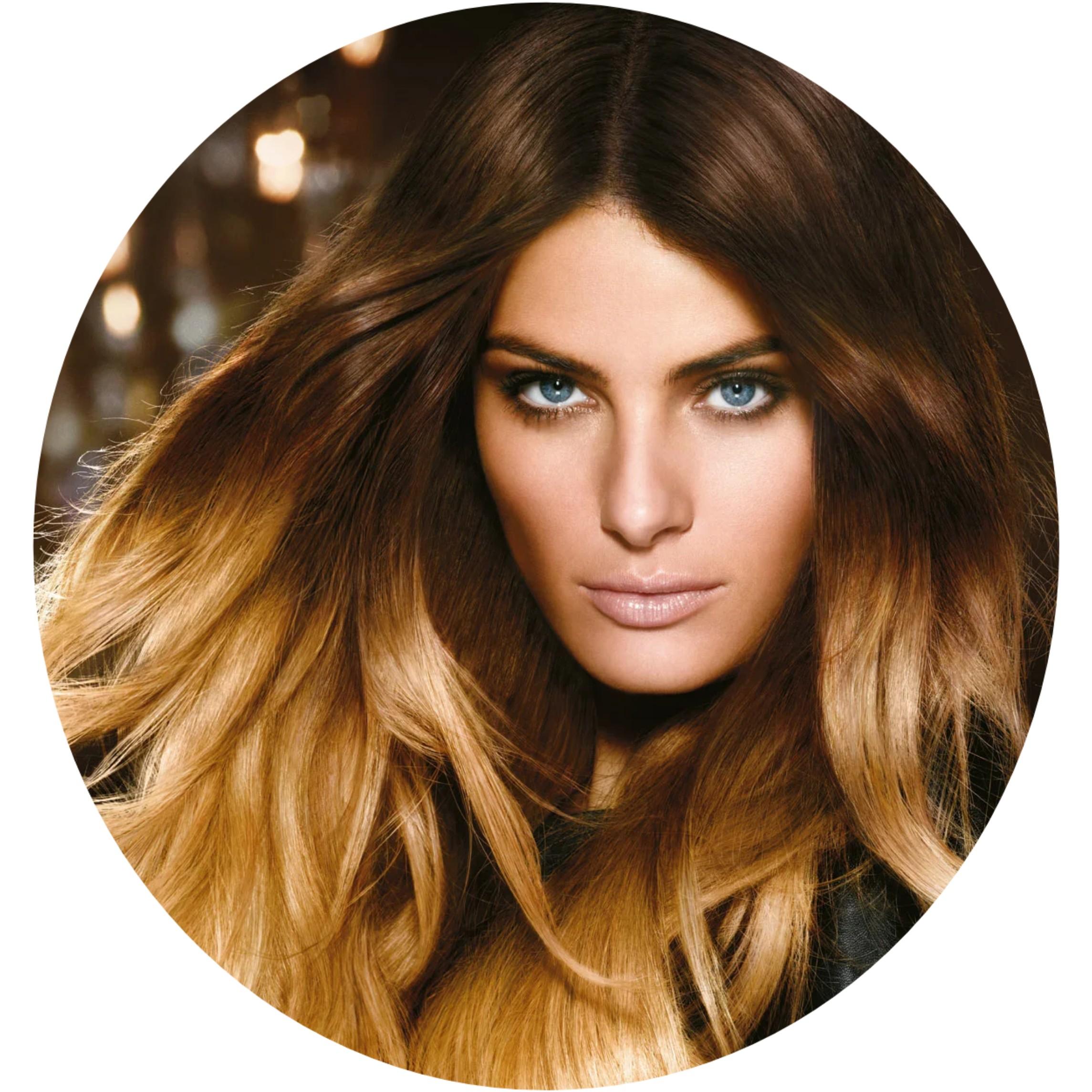 Стрижка женская, длинные волосы