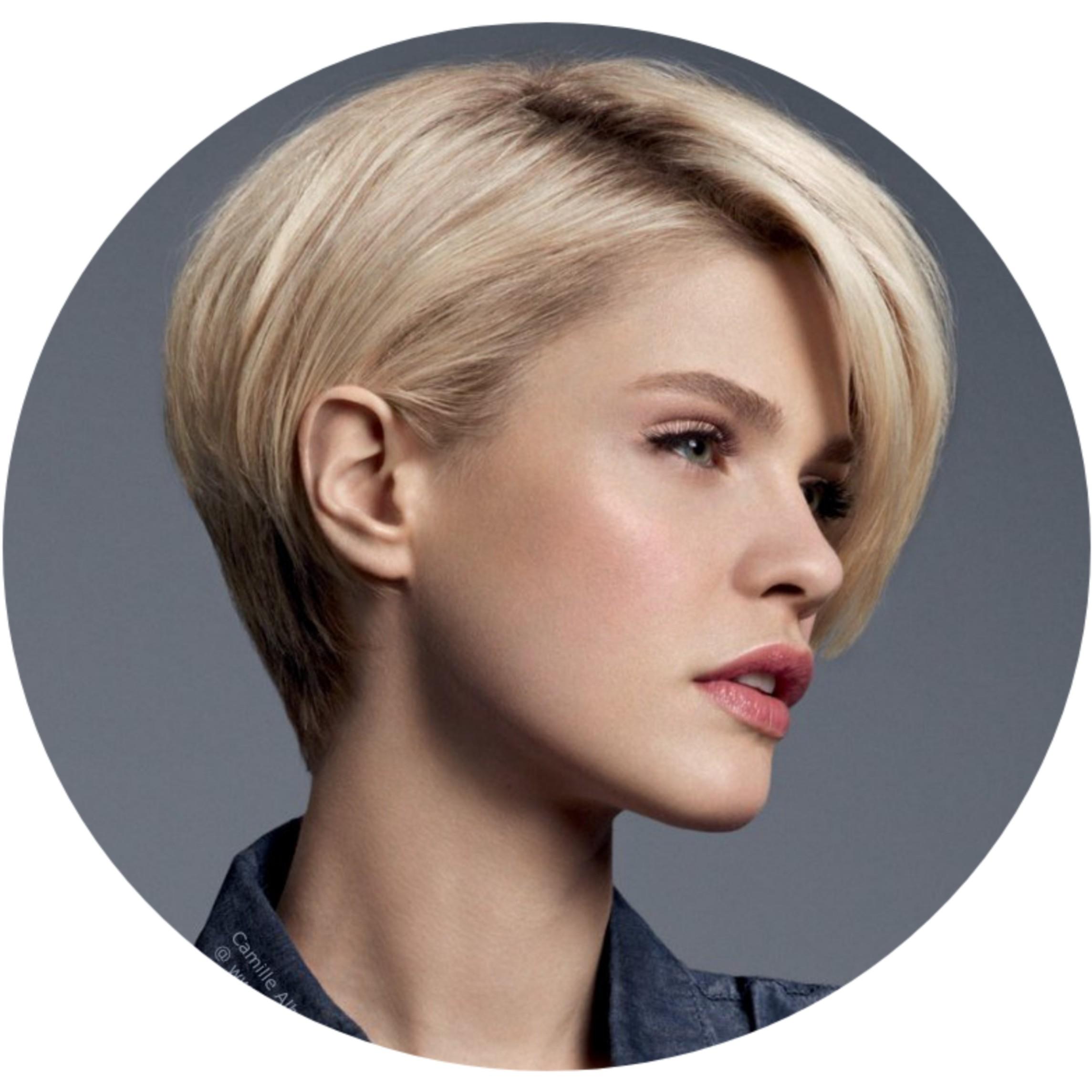 Стрижка женская,короткие волосы