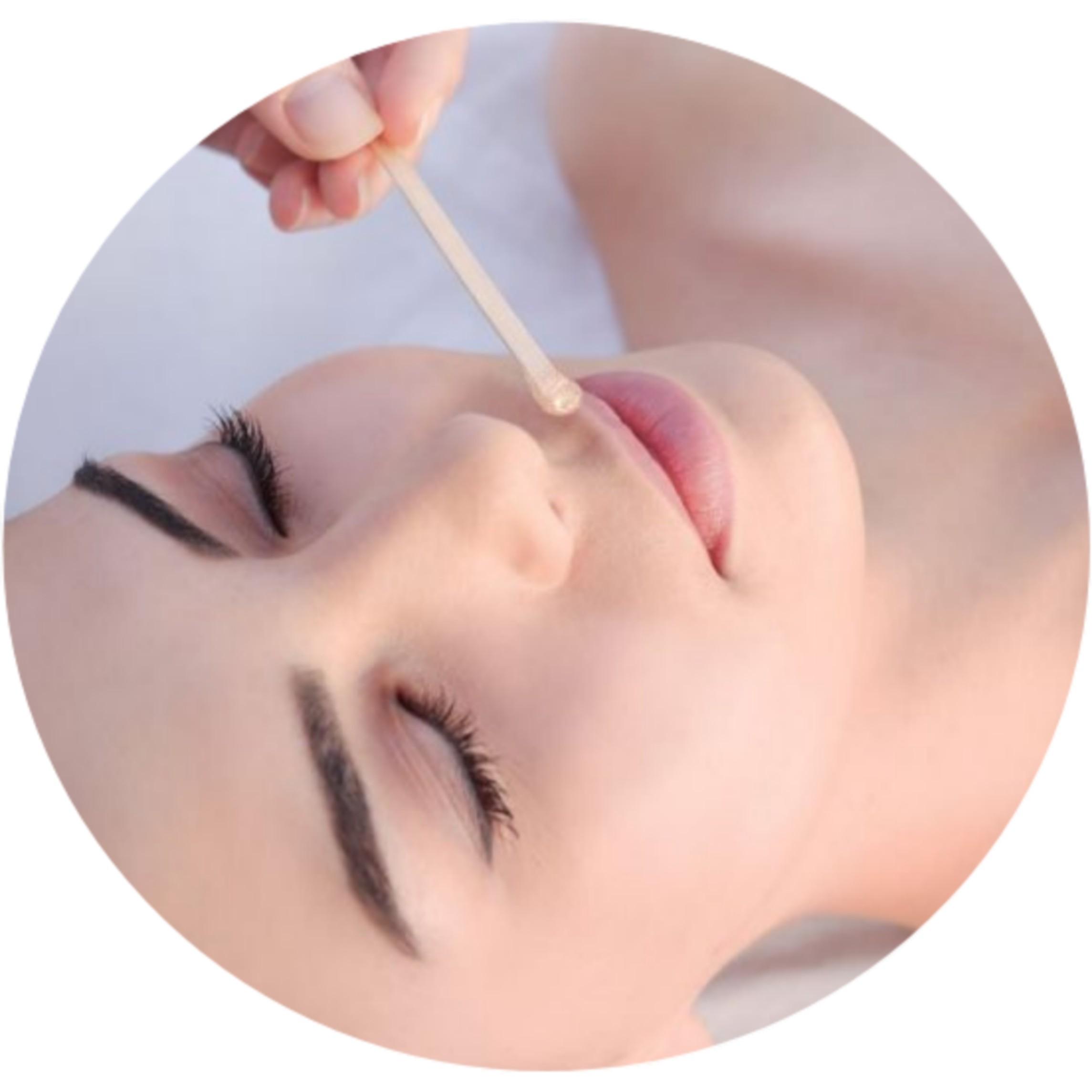Депиляция лица, зона над верхней губой
