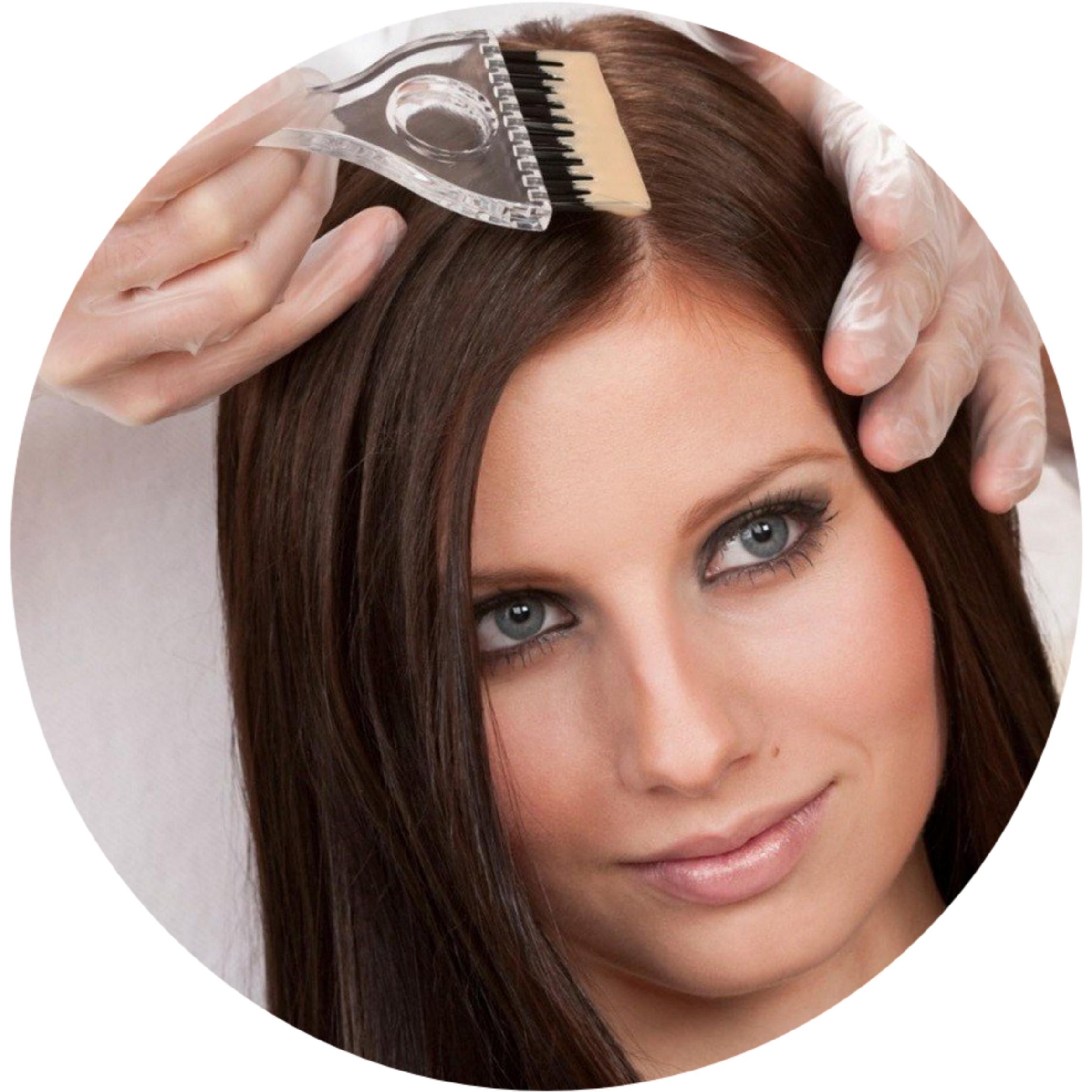 Окрашивание волос краской клиента,1 тон
